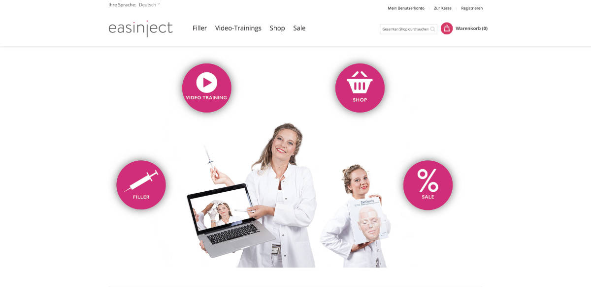 Creative Punkx Project Magento Shop easinject